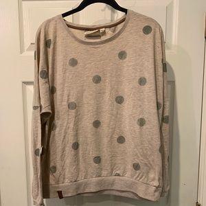 Naketano polka Dot Pink long sleeve sweater